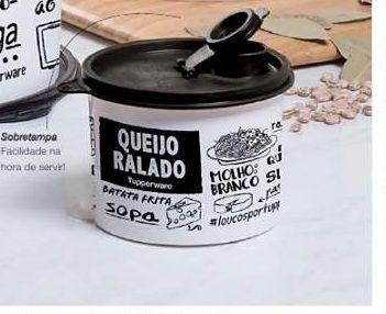 Tupperware Redondinha Queijo Ralado PB - 500ml