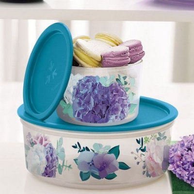 Mini Instantanea Tupperware 575ml+ Delicatesse Hortensia 1,75 ml
