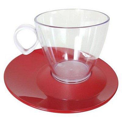 Xicara Tupperware em policarbonato 180 ml