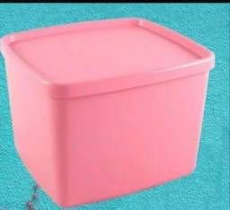 Jeitoso Rosa Tupperware 800ml cada