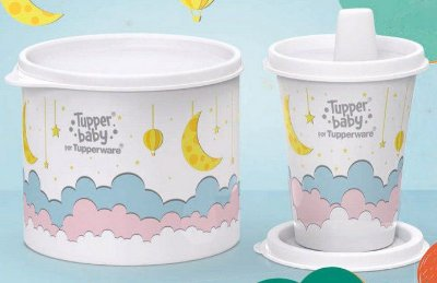 Tupperware Kit Baby  Copo + Redondinha