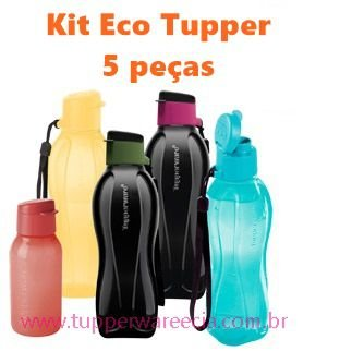 Eco Tupper Tupperware Kit 5 peças