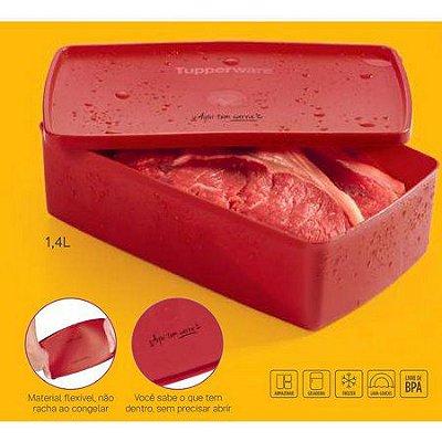 Tupperware Caixa Ideal  Aqui tem Carne  1,4 litros