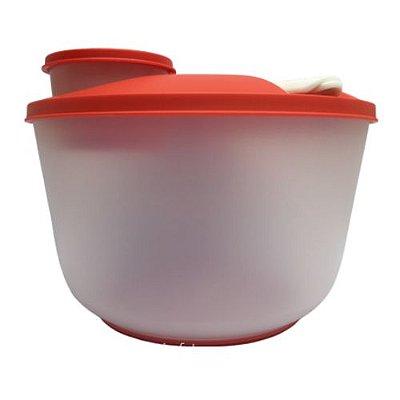 Tupperware Saladeira Plus Portatil com Potinho e Pegador