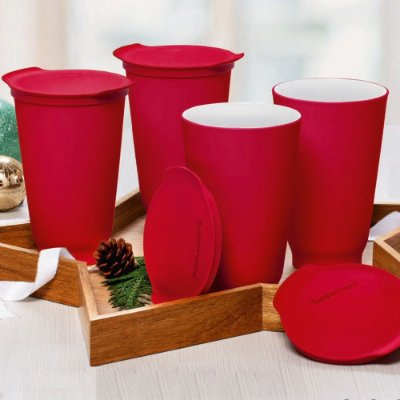 Tupperware kit copo Allegra 450ml cada