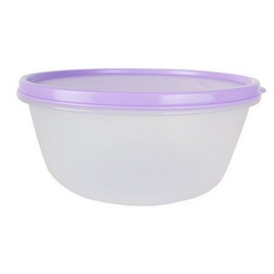 Tupperware Tigela Visual 1,5 Litros - Tampa Lilás