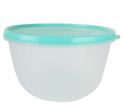 Tupperware Tigela Visual 2 litros tampa verde