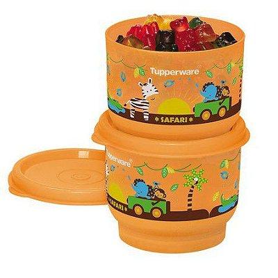 Tupperware Potinho Baby Safari 140ml - 2 unidades