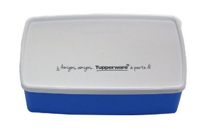 Tupperware Caixa Ideal Azul litros 1,4 litros