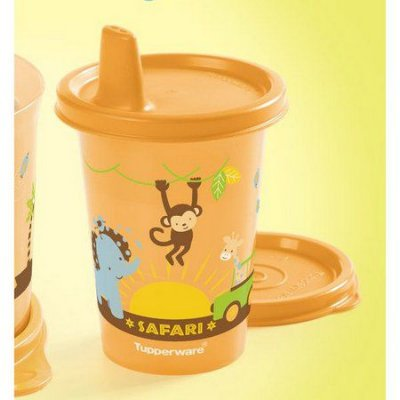 Tupperware Copo com Bico Baby Safari 200ml