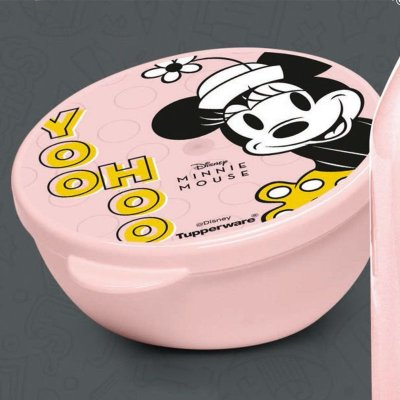 Tupperware Pote Redondo Minnie 300ml