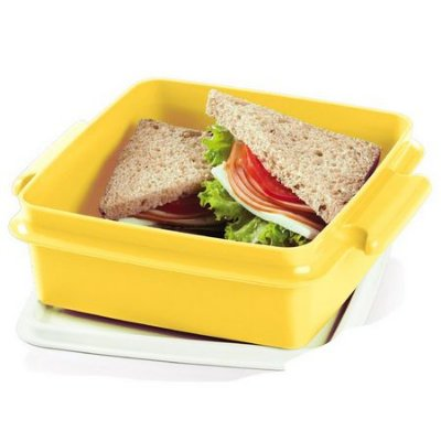 Tupperware Tupper Pote 780ml Amarelo