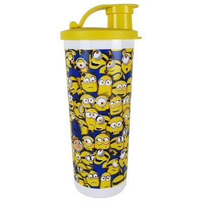 Tupperware Copo Com Bico Minions 470 ml