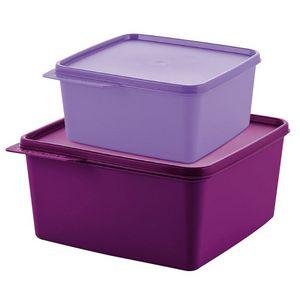 Tupperware Kit Basic Line 2 peças - 2,5 litros+ 1,2 litros