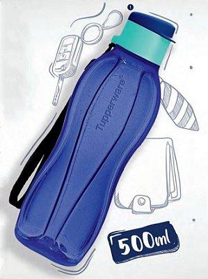 Tupperware Garrafa Eco Tupper Azul Iris 500 ml
