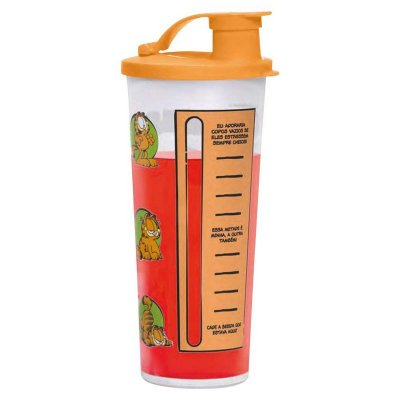 Tupperware Copo Com Bico Garfield 470 ml