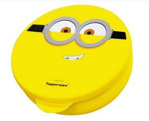 Tupperware Pote Redondo Minions 300 ml