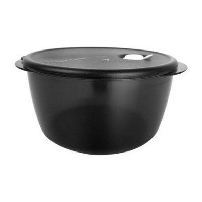 Tupperware Cristalwave Policarbonato Importado Preto 3,5 litros