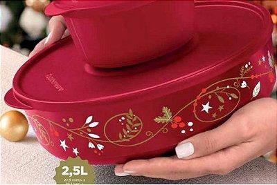 Tupperware Tigela Ilumina Vermelha 2,5 litros