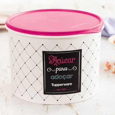 Tupperware Tupper Caixa de açúcar Bistrô 5kgs
