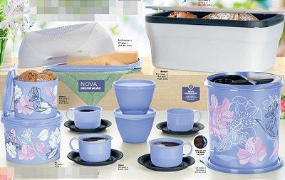 Tupperware Kit Cafe da Manhã Tupperware 11 peças