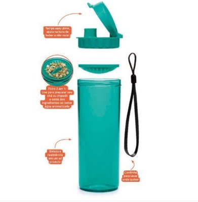 Tupperware Tupper Drink 380 ml Verde