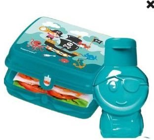 Tupperware Kit Eco Kids 2 peças - Eco 350 ml + Porta Sanduiche pirata