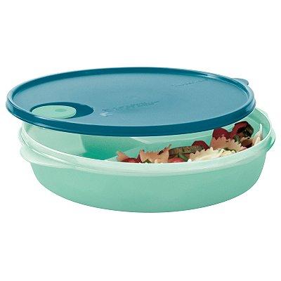 Tupperware Cristalwave com divisórias 1,4 litros