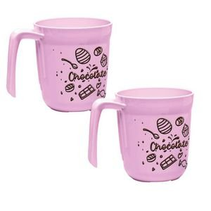 Tupperware Caneca Allegra Loucos por Chocolate 400ml