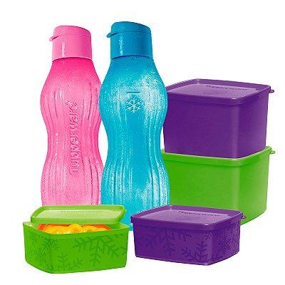 Tupperware Kit Freezer 6 peças