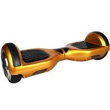 Hoverboard Scooter 6,5 Dourado com Bateria Samsung