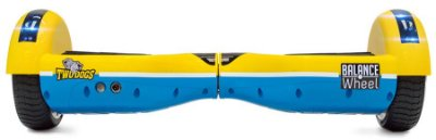 HOVERBOARD TWO DOGS TEEN AMARELO E AZUL COM LEDS