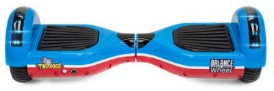 HOVERBOARD TWO DOGS TEEN AZUL E VERMELHO LEDS