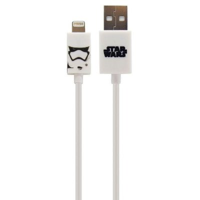 Cabo Lightning MFI 1,2 metros, Storm Trooper Star Wars - IWill