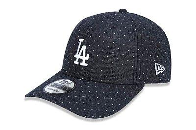 Boné New Era 940 Aba Curva Los Angeles Dodgers Dots - Snapback