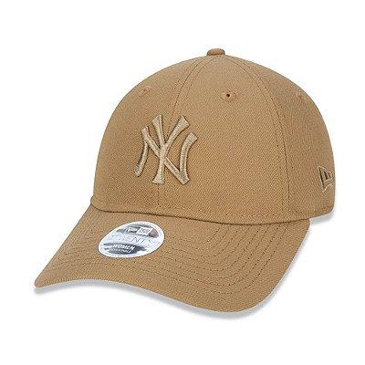 Boné New Era 920 New York Yankees Wheat Kaki - Strapback