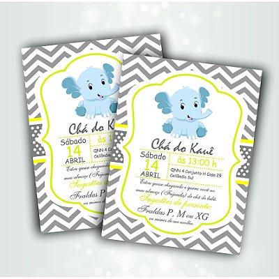 Convite Infantil folha unica
