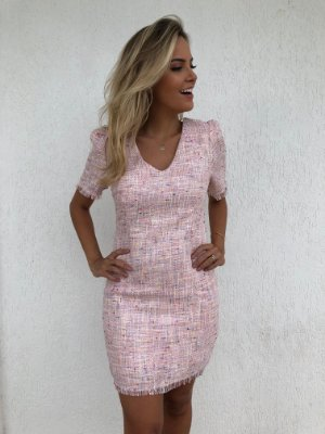 VESTIDO DE TWEED ROSE