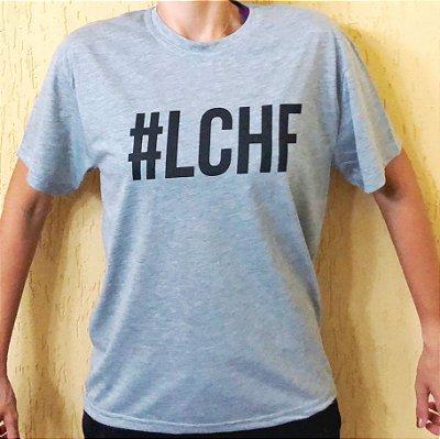 Camisa #LCHF - Masculina Cinza