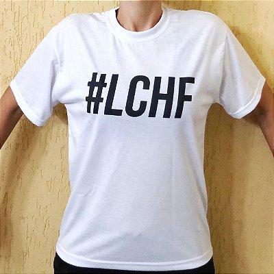 Camisa #LCHF - Masculina Branca