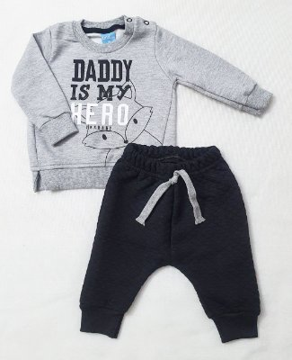 Conjunto TMX Daddy Is My Hero