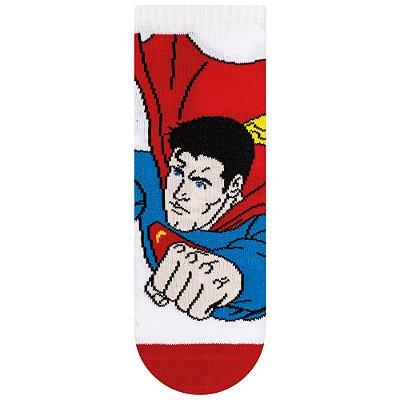 Meias Infantil Superman - Liga da Justiça