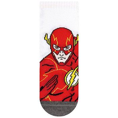Meias Infantis Flash - Liga da Justiça