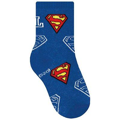 Meias Infantis Super Homem - Liga da Justiça