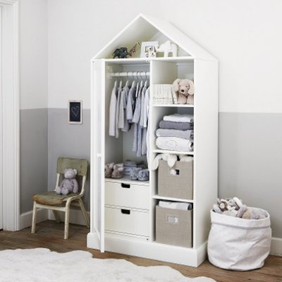 Guarda roupa / estante infantil