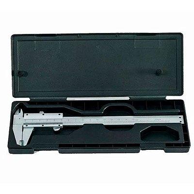 Paquímetro Aço Inox Universal Analógico 150mm MTX