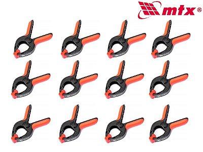 Grampo Plastico Multiuso Marceneiro 4 Pol 12 Unidades MTX