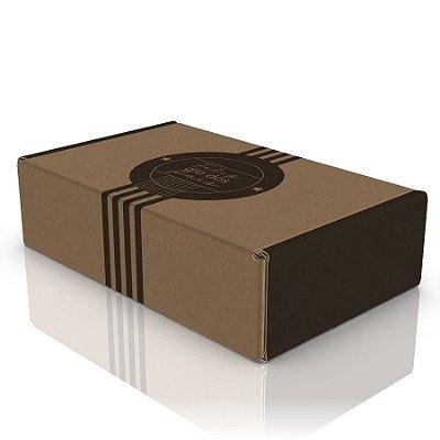 Caixa de Papelão Dia Dos Pais - C:26 x L:16 x A:7 cm (Kit c/ 10 unidades)