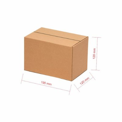 Caixa Papelão p/ Sedex Correio E-Commerce C:19 x L:12 x A:12 (Kit 200 Peças)