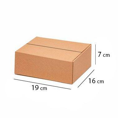 Caixa Papelão Sedex Correio E-Commerce C:19 x L: 16 x A: 7 cm (Kit c/ 50 unidades)